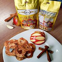 Яблоки сушеные «Слайсы яблочные сушеные с корицей» 50 г, фото 1