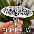 Серебряное кольцо без камней - Кольцо ажурное серебро, фото 8