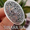 Серебряное кольцо без камней - Кольцо ажурное серебро, фото 7