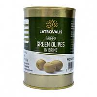 Оливки Latrovalis Зеленые 455/180 г
