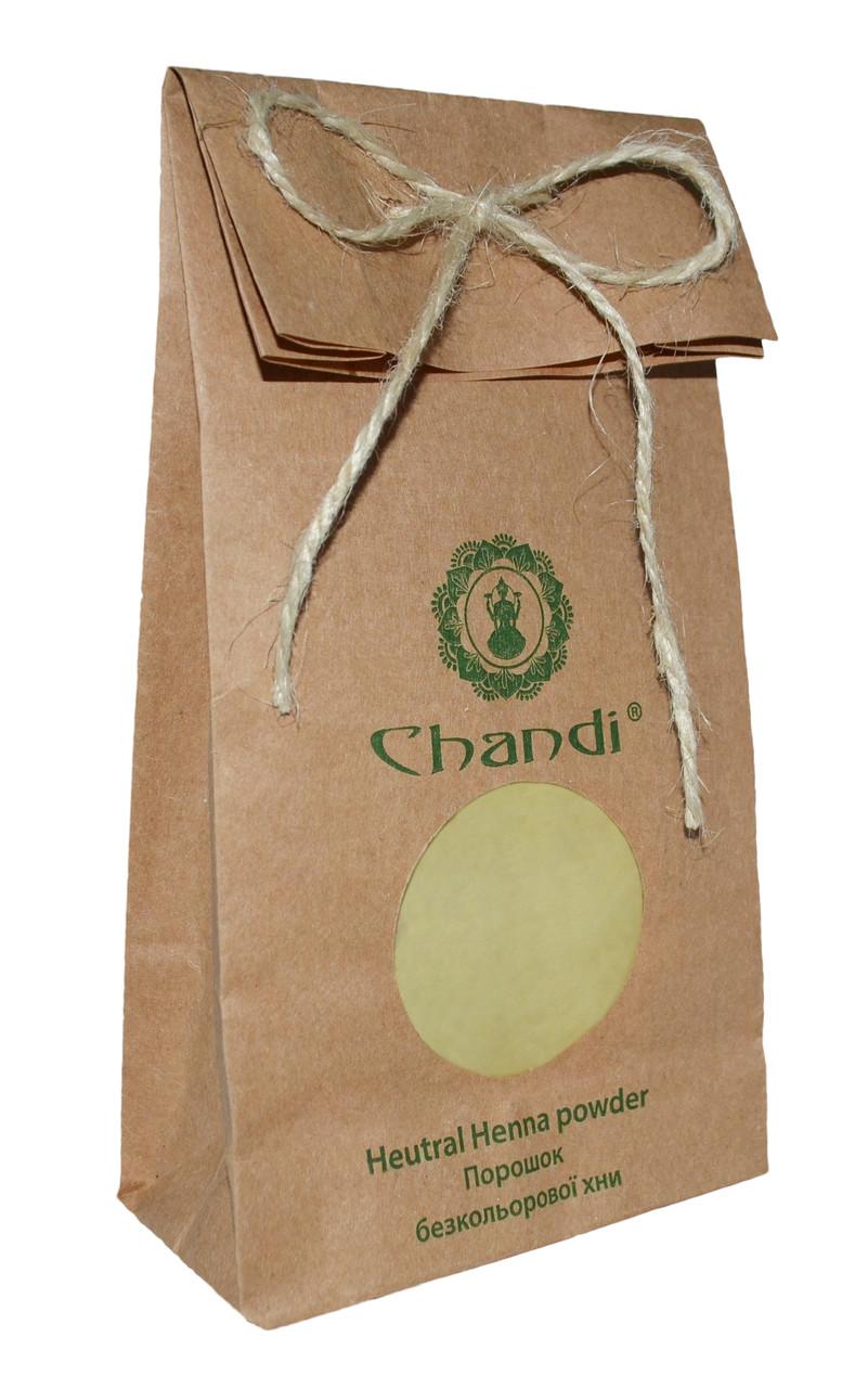 Порошок безкольорової хни Chandi, 100г