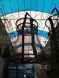 Рыбацкий садок из капроновой нитки 50см ,d=34см , фото 3