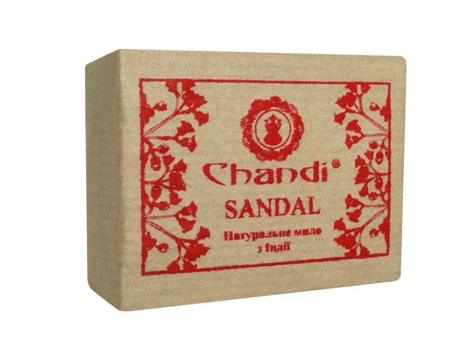 "Натуральное мыло ""Сандал"" Chandi, 90 г"