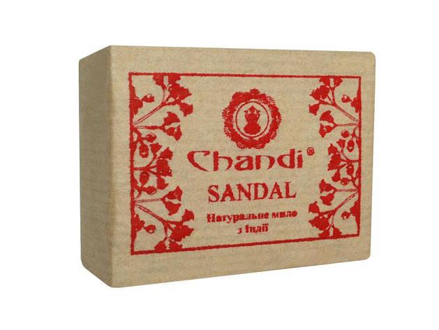 "Натуральное мыло ""Сандал"" Chandi, 90 г, фото 2"