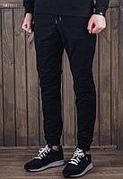 Мужские черные штаны джоггеры Staff black SNT0012
