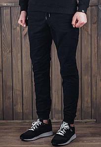 Мужские черные штаны джоггеры Staff black SNT0012-1