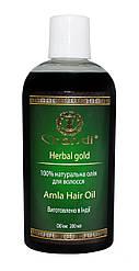 """Натуральна олія для волосся """"Амла"""" Chandi, 200мл"""