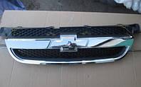 Решетка радиатора хром Chevrolet Aveo T250. Новая. Пр-во Tempest.