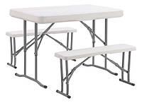 Набор мебели для пикника TE-1812, стол и две лавки