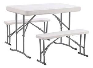 Набор мебели для пикника TE-1812, стол и две лавки, фото 2