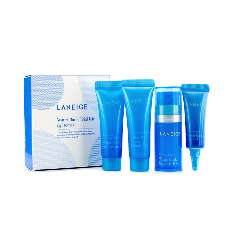 Набор косметики для увлажнения кожи LANEIGE Water Bank Trial Kit миниатюры