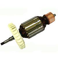 Якорь тст-н болгарки Odwerk 230/2350, Powermat 230 (54*206 мм, хвостовик - шлиц+резьба 9 мм)