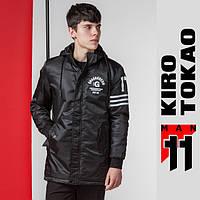 11 Kiro Tokao | Японская парка веснне-осенняя 66201 черная
