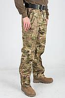 Мужские штаны камуфляжные Мультикам НАТО  с карманами.