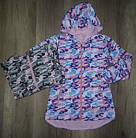 Куртки для девочек оптом, S&D, 4-12 лет,  № KK-830