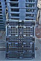 Пластиковые поддоны бу 1100х820 мм