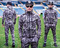 Мужской камуфляжный  спортивный костюм весна/осень 2018, фото 1