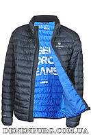 Куртка мужская демисезонная TIGER FORCE 50228  тёмно-синяя