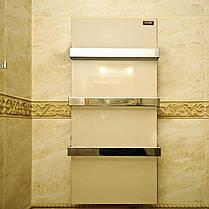 Керамический полотенцесушитель Dimol Standart 07 кремовый, фото 3