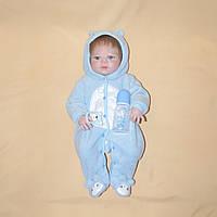 Кукла реборн 57 см полностью виниловый мальчик Никита