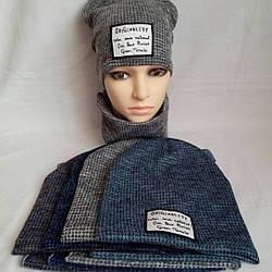 101785 Набор шапка и хомут Нашивка
