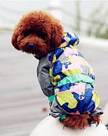 """Дождевик для собак средних и крупных пород """"Камуфляж"""". Одежда для собак."""