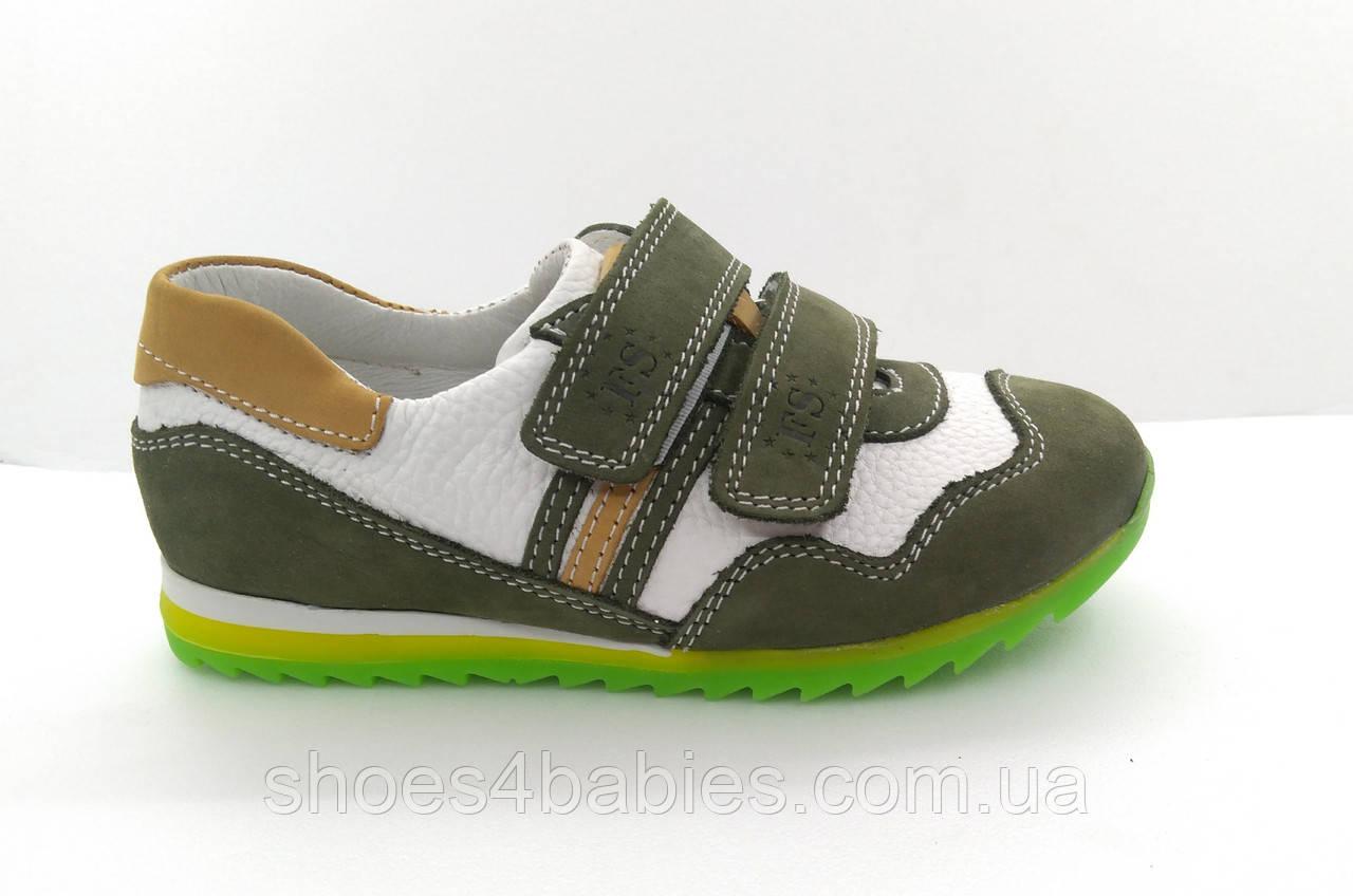 Детские кожаные кроссовки FS р. 21, 22
