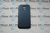 Задняя панель корпуса для мобильного телефона Samsung Galaxy S5 Mini / SM-G800 / G800F Black