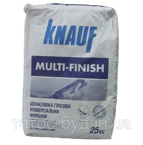 Шпаклевка Мультифиниш Knauf, 25 кг