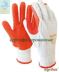 Перчатки рабочие для стекольщика и каменщика Ogrifox OX-ORANGINA WP