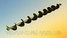 Шнек Ø 90 мм. для трубы Ø108 мм. лопасть 2 мм