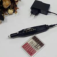 Фрезер-ручка для аппаратного маникюра и педикюра чёрная