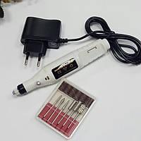 Фрезер-ручка для аппаратного маникюра и педикюра белая