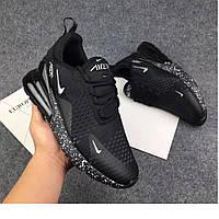 Мужские кроссовки Nike Air Max 270 Flyknit Black