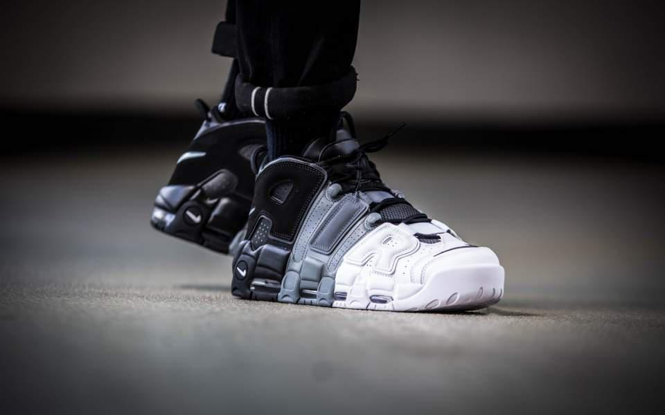 "Кроссовки Nike Air More Uptempo 96 ""Tri-color"""