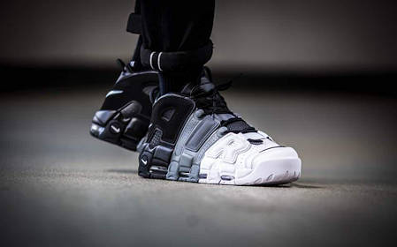 "Кроссовки Nike Air More Uptempo 96 ""Tri-color"", фото 2"