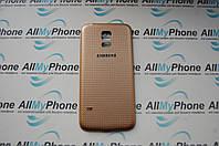 Задняя панель корпуса для мобильного телефона Samsung Galaxy S5 Mini / SM-G800 / G800F Gold