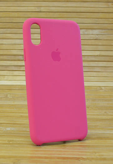 Чехол на Айфон, iPhone X Silicone Case Original COPY Камелия