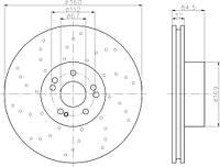 RM3120 = DDF158 Тормозной диск GOODREM
