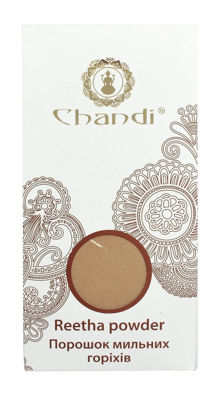 Порошок мыльных орехов (Reetha рowder) Chandi, 100г