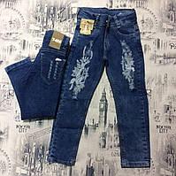 Детские джинсы для девочек 1-4 года