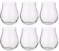 Набор низких стаканов Attimo 6 шт по 320 мл Bohemia b23016-169621