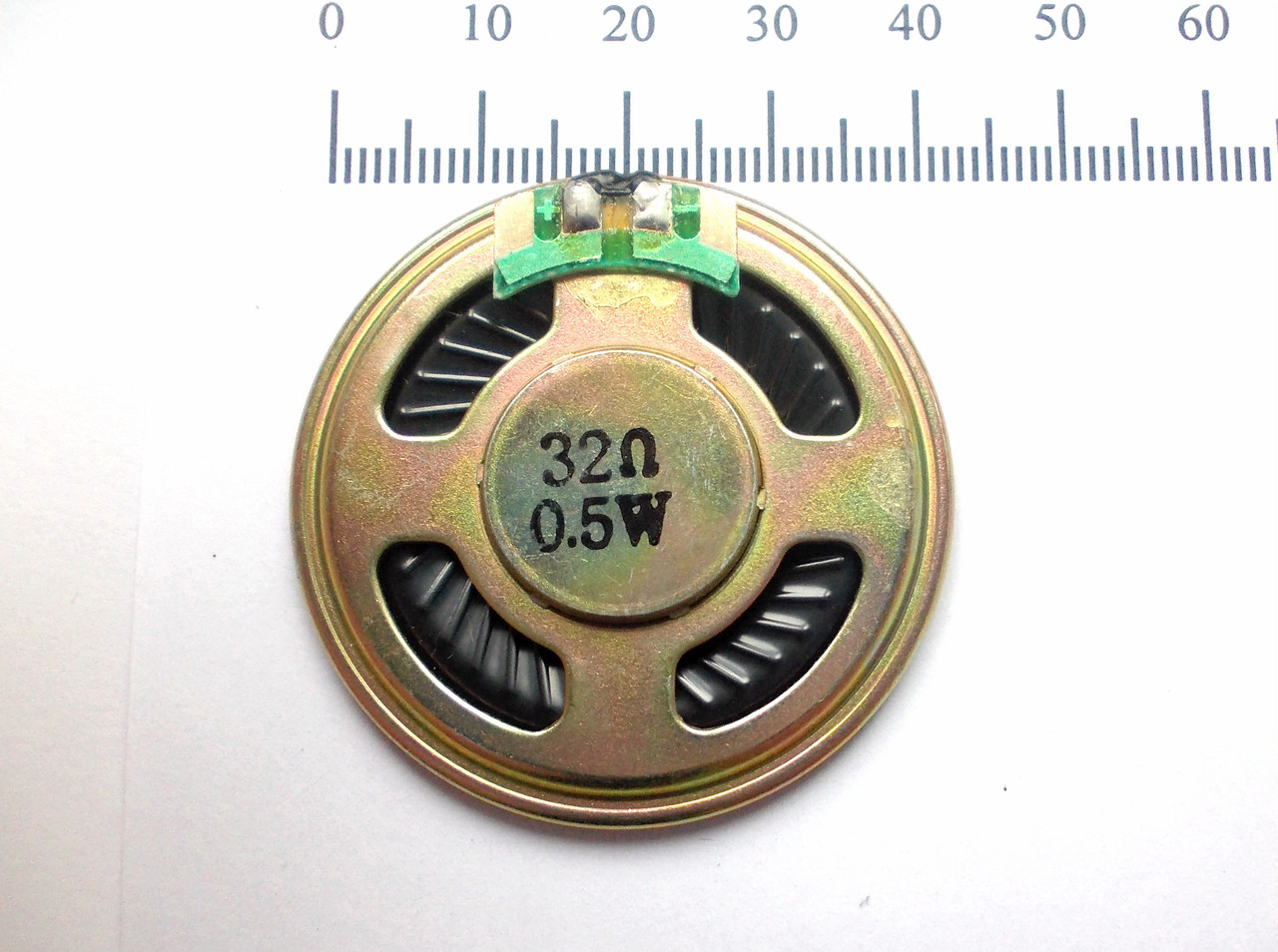 Динамик 40 мм, 32 Ом, 0,5 Вт