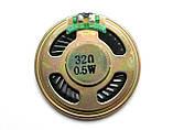 Динамик 40 мм, 32 Ом, 0,5 Вт, фото 3