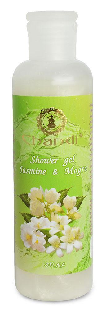 """Индийский гель для душа """"Jasmine & Mogra"""" Chandi, 200мл"""