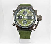 Часы военные водонепроницаемые 10 ATM AMST 3003 (Кварц) Green/Black/Green. ОРИГИНАЛ 100% МОЖНО ПЛАВАТЬ!, фото 1