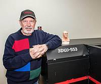 Первая инсталляция 3D-принтера Mimaki 3DUJ_553 в Лас-Вегасе