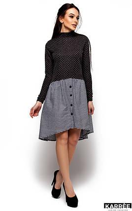 Женское платье Karree Роуз, черный, фото 2