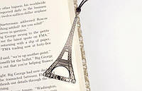 Металлическая закладка для книг Париж Эйфелева башня
