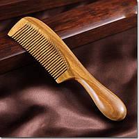 Деревянная расческа для волос сандаловая
